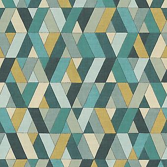 Rasch Barbara Home Collection II Fondo de pantalla geométrico 536744