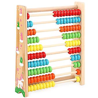 Wooden Abacus Toy Math Wooden Toy Numbers Educational Game Perfect Toddler Toys Logical