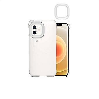 Iphone 12 Pro 11 -puhelimen kotelo täyttää kevyen selfie-kauneusrenkaan valon