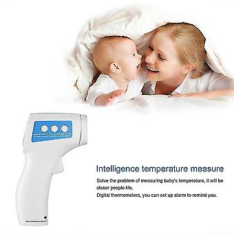 Ir Laser Infrared Thermometer Lcd Body Temperature Sensor Settable Alarm