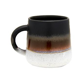 Sass &Belle Mojave Glaze Black Mug
