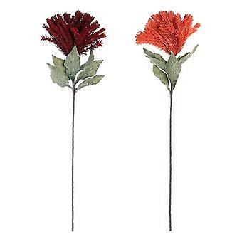 Decorative flower DKD Home Decor EVA (ethyl vine acetate) (2 pcs)