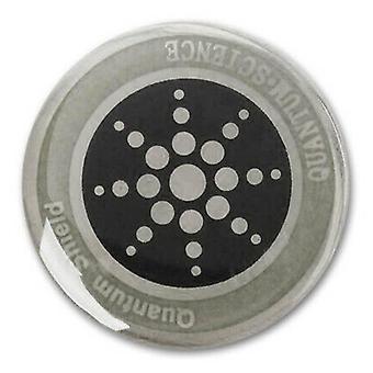 (Plata) Para teléfonos móviles Quantum Shield Anti radiación pegatina tabletas EMF Protección