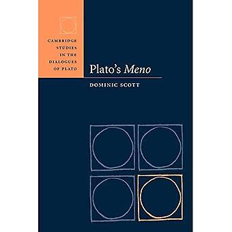 Plato's Meno (Cambridge Studies in the Dialogues of Plato)