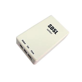 Hq Telephone Broadband Splitter Rj11 Connector For Sdsl Adsl Modem