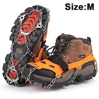 Chutes de gelo Ice Snow Grips Crampons for Jogging And Hiking, M