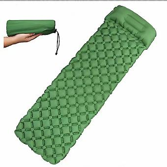Outdoor Portable Inflatable Cushion, Camping Moisture-proof Mat, Picnic Mat, Suitable For Camping, Traveling, Hiking (green)