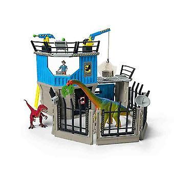 Board games large dino research station children dinosaurs toy