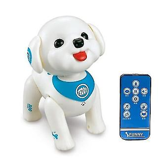 Robotic toys t5ec rc robot dog smart puppy programmable voice control singing walking remote control electronic