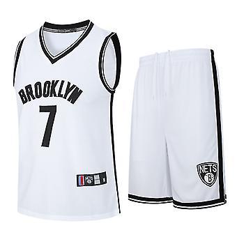 Nba Brooklyn Nets Kevin Durant No. 7 Basketball Jersey, Shorts (child Size 2pcs)