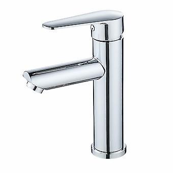 Acier inoxydable Placage Lavatory Robinet Sous-monté Salle de bain Lavatoire Robinet chaud et froid Mélange Robinet