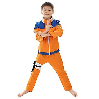 Halloween Kind Naruto Cosplay Kostüm Uzumaki Naruto-Größe S-xl