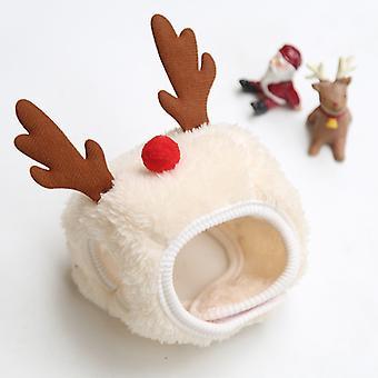 Pet Elf Pup Christmas Santa Animal Xmas Outfit Fancy Dress Costumescarfgreen