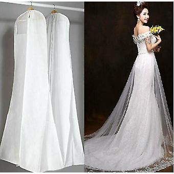 Gran vestido de novia blanco no tejido vestido de novia bolsa de vestir bolsas de vestir de cuerpo entero bolsas de vestir