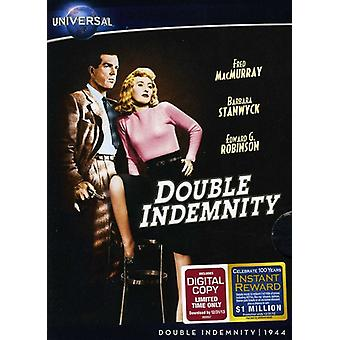 Double Indemnity [DVD] USA import