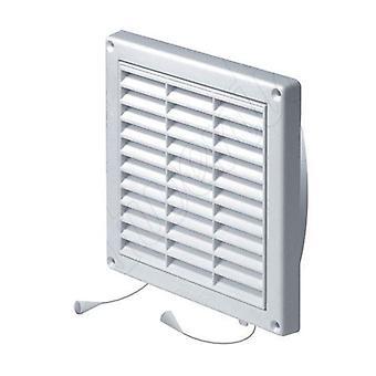 Стены вентиляции решетка воздуховода накрыть чистой тянуть шнур и затвора 130-200 мм