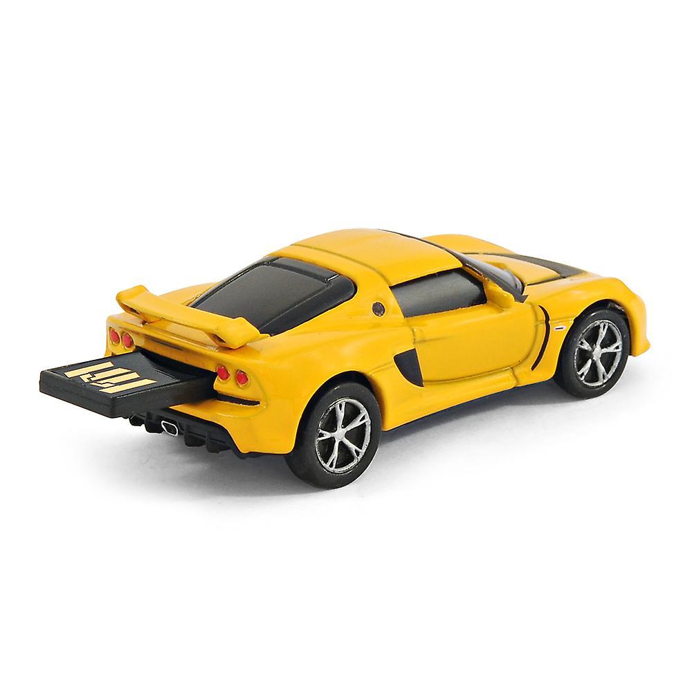 Lotus Exige S Car USB Memory Stick Flash Drive 8Gb - Yellow
