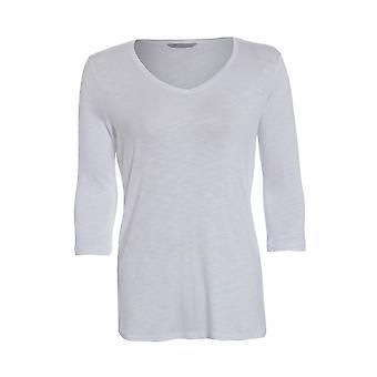 V-neck T-shirt mit 3/4 Ärmel