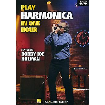Play Harmonica in One Hour [DVD] USA import