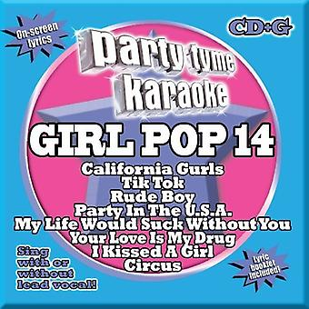 Party Tyme Karaoke - Party Tyme Karaoke: Vol. 14-Girl Pop [CD] USA import