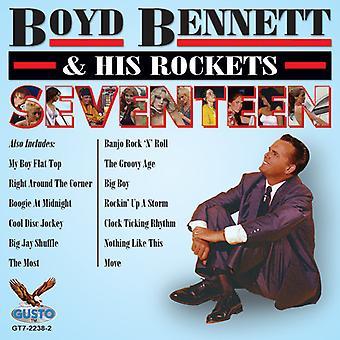 Boyd Bennett & hans raketer - sjutton [CD] USA import