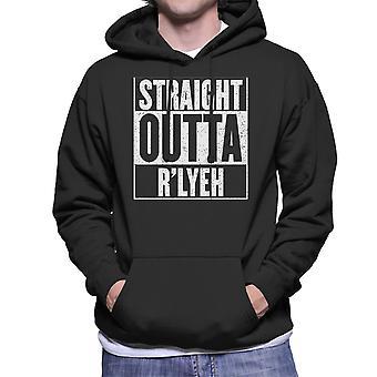 Straight Outta Rlyeh Call of Cthulhu Men's Hooded Sweatshirt