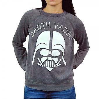 Freeze Womens Star Wars Darth Vader Sweater Grey
