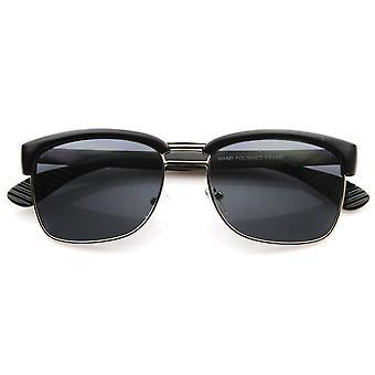 Projektant zainspirował pół ramki Semi okulary bez oprawek klasycznych Square