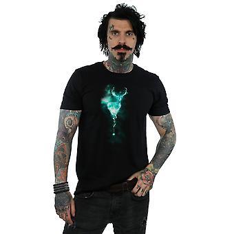 Harry Potter Herren Hirsch Patronus Nebel T-Shirt