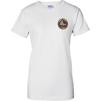 Équipe de SEAL - Naval élite des Forces spéciales américaines - 4 T-Shirt Design poitrine de dames