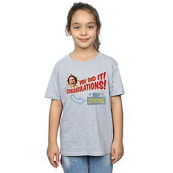 Elf Girls World's Best Coffee T-Shirt