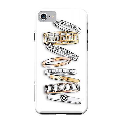 ArtsCase Designers Cases Stack of Brand Designer Bracelets for Tough iPhone 8 / iPhone 7