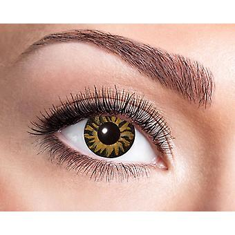 Tiger eyes contact lenses