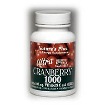 Natures Plus ULTRA CRANBERRY 1000 MG TABLETS 90