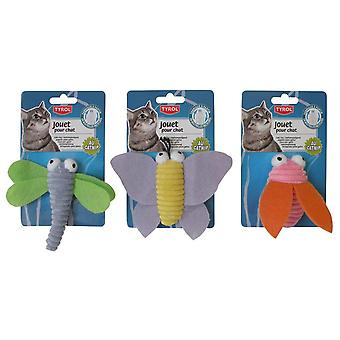 Agrobiothers Plush Toy Velvet Insect (Cats , Toys , Plush & Feather Toys)