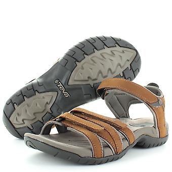 Teva Womens/Ladies Tirra Leather Cushioned Summer Walking Sandals