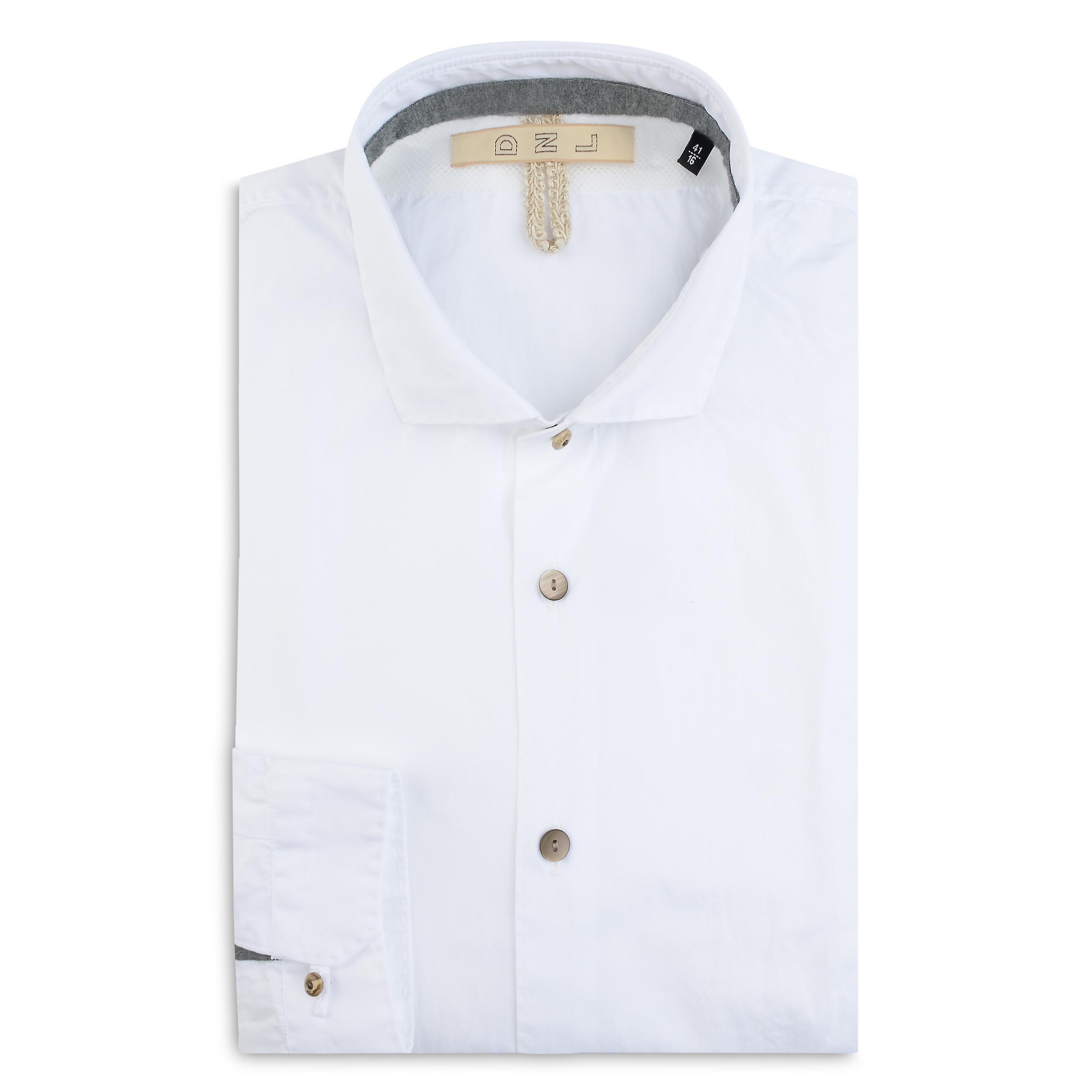 Fabio Giovanni Siponti Shirt - Mens High Quality Classic White Italian Shirt