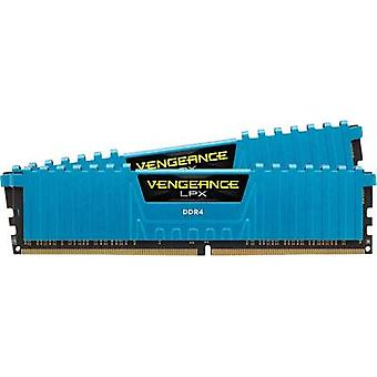 Kit di PC RAM Corsair Vengeance® LPX blu CMK16GX4M2B3000C15B 16 GB 2 x 8 GB DDR4 RAM 3000 MHz CL15 17-17-35