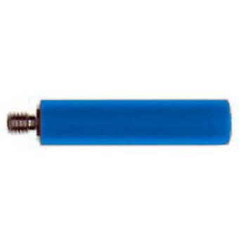 "Stäubli B4-E-M4-אני בלאו בורג מתאם M4 הברגה בורג-4 מ""מ כחול 1 pc (עם)"