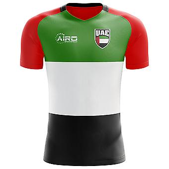 2020-2021 United Arab Emirates Home Concept Voetbalshirt