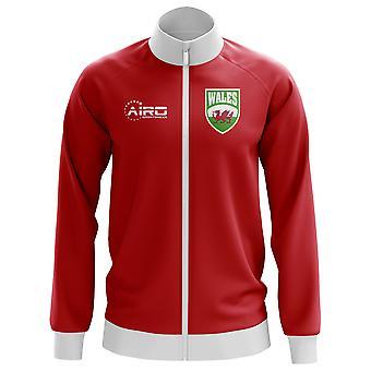 Țara Galilor conceptul de fotbal jacheta Track (Red)-copii