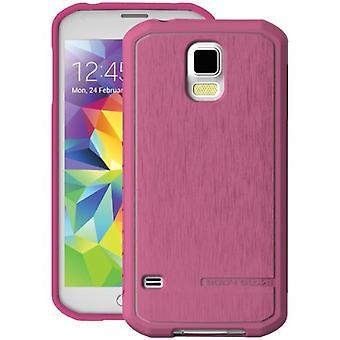 BodyGlove Satiini kotelo Samsung Galaxy S5 (pinkki)