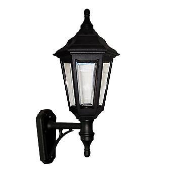 Elstead Lighting Kinsale 6 Sided Outdoor Wall Up Light In Black
