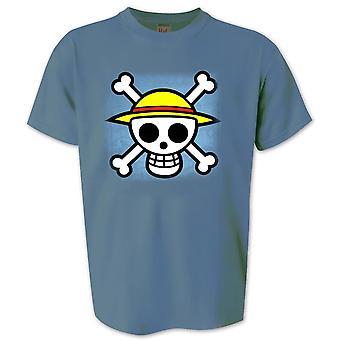 Un pezzo t-shirt teschio