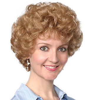 Fashion women short curly Kelly wig