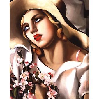 Portrait Fille Poster Print by Tamara De Lempicka (16 x 20)