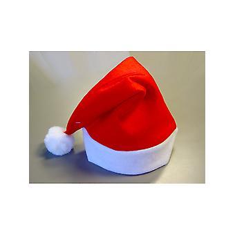 Santa Red Filz Hat - Sonderangebot - (12 Hüte insgesamt)