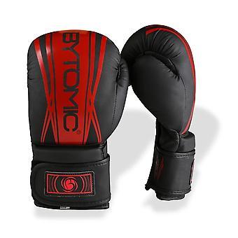 Bytomic as V2 Kids bokshandschoenen zwart/rood
