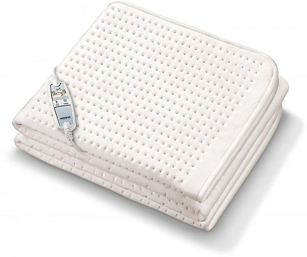 Beurer Monogram Fitted Single Electric Blanket With Adjustable Body...
