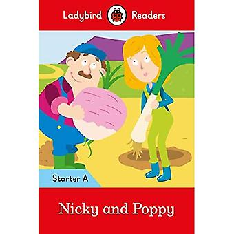 Nicky et pavot: Ladybird lecteurs Starter niveau A